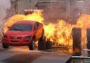 Le auto dei film fanno una brutta fine
