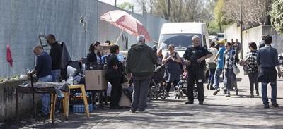 Gli scontri tra rom e polizia a Roma