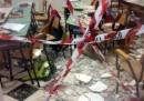 È crollato il soffitto di un'aula in una scuola elementare di Ostuni, in Puglia