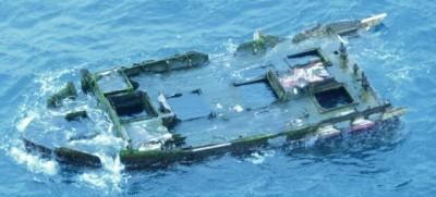 Il peschereccio arrivato in Oregon dal Giappone