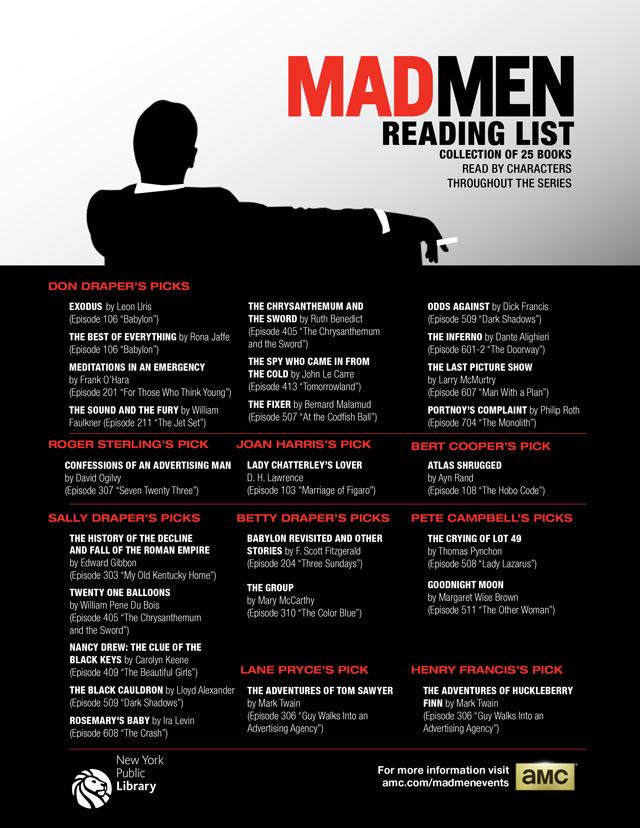 Mad-Men-Reading-List