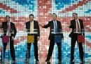La boy band dei candidati britannici