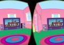 La gag del divano dei Simpson, vista con Oculus Rift