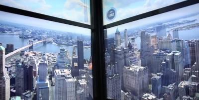 La costruzione di New York dal 1500 a oggi, in time lapse nell'ascensore del One World Trade Center