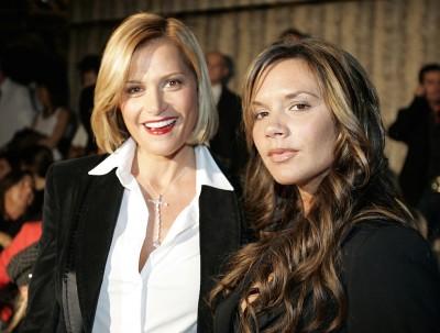 Simona Ventura e Victoria Beckham