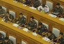 Le foto dal parlamento della Birmania
