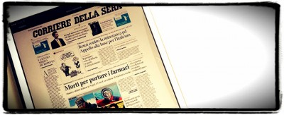 Il nuovo direttore del Corriere non c'è