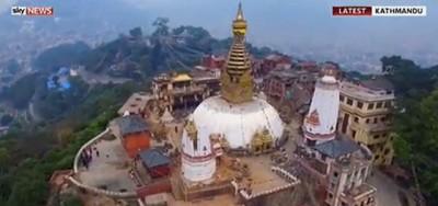 I danni del terremoto in Nepal visti con un drone