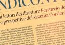 """Il """"Rendiconto"""" di Ferruccio De Bortoli"""
