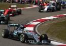 Lewis Hamilton ha vinto il Gran Premio di Formula 1 di Cina