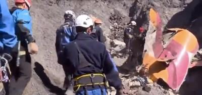 Il video dei rottami del volo Germanwings