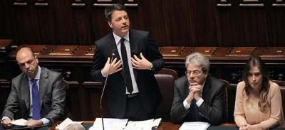 Cosa ha detto Renzi sul naufragio