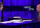Il video di Enrico Letta a Che tempo che fa, ieri sera