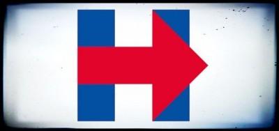 Il logo di Hillary Clinton