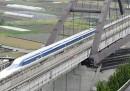 Il nuovo record di velocità su rotaia del treno giapponese a levitazione magnetica