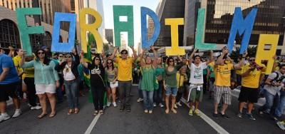 Le nuove proteste contro Dilma Rousseff
