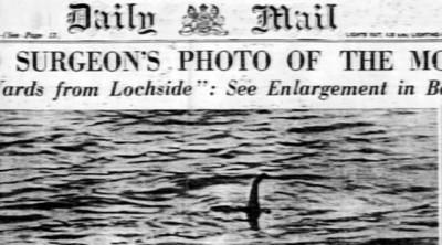 Mostro di Loch Ness, la storia della foto