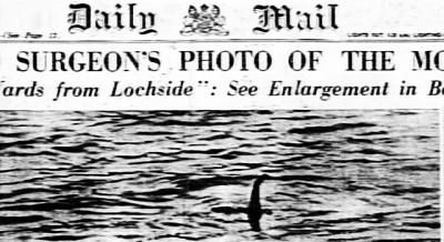 La foto del mostro di Loch Ness