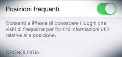 L'iPhone si ricorda dove sei stato