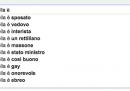 I politici italiani secondo Google, di nuovo
