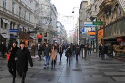 Kärntner Strasse, Graben e Kohlmarkt, Vienna