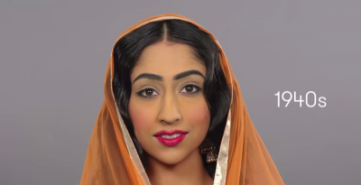 Le acconciature delle donne in India, dal 1910 a oggi