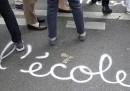 Gli insegnanti francesi stanno protestando contro la riforma del Baccalaureato, l'esame di maturità francese, voluta da Macron