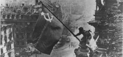 La foto della bandiera rossa sul Reichstag