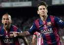 Il gran gol di Messi nella finale di Copa del Rey