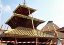 Il padiglione del Nepal interrotto