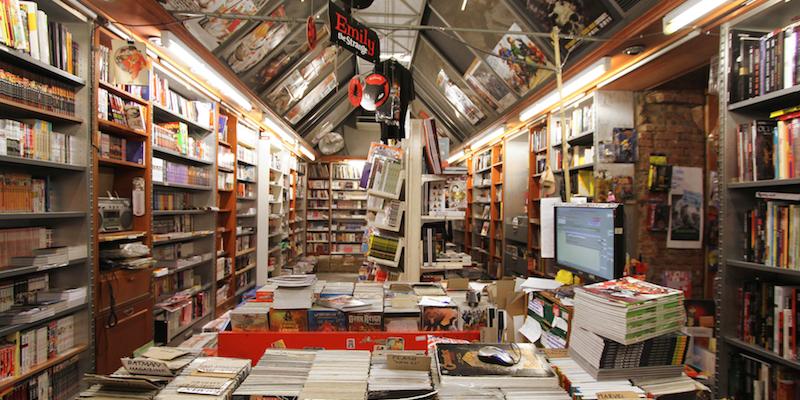 Le pi belle biblioteche e librerie di milano il post for Negozi di belle arti milano