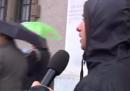 Il manifestante che