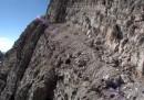 Via ferrata in mountain bike