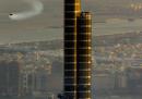 In volo col jetpack sopra Dubai