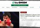 """Il nuovo """"The Onion"""""""