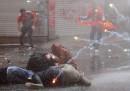 Gli scontri di piazza Taksim, in Turchia