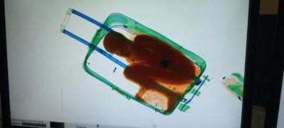 Il bambino trovato in una valigia a Ceuta
