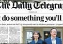 Il Telegraph sulle elezioni nel Regno Unito: «Non fate qualcosa di cui potreste pentirvi»