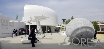 I primi giorni di Expo 2015 fotografati
