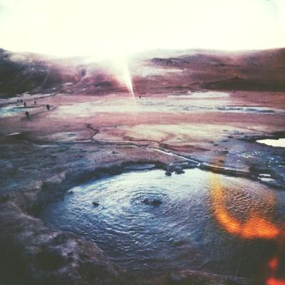 Polaroid Islanda