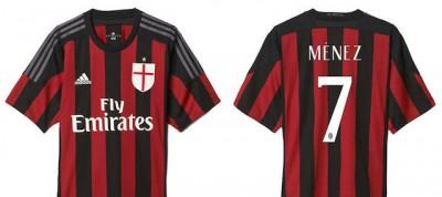 Le foto della nuova maglia del Milan
