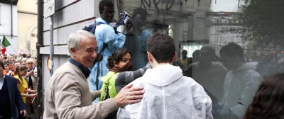 """Le foto di """"Nessuno tocchi Milano"""""""