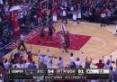 L'incredibile finale di partita tra gli Atlanta Hawks e i Washington Wizards