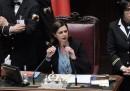 Laura Boldrini a La Russa: «Esca da quest'aula»