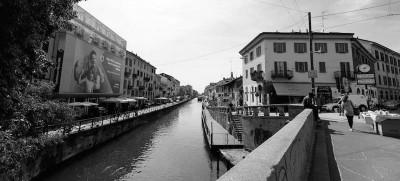 Nuove foto della nuova darsena a Milano