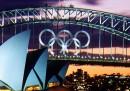 I cerchi olimpici di Sydney sono stati messi all'asta
