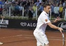 Totti e gli altri che giocano a Tennis, le foto