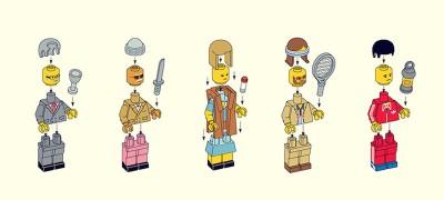 I personaggi dei film di Wes Anderson fatti coi LEGO