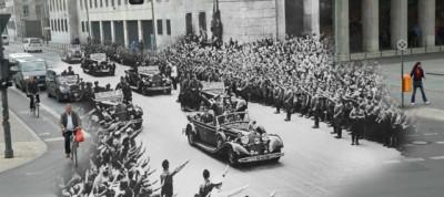 Le foto di Berlino oggi e nel 1945, combinate