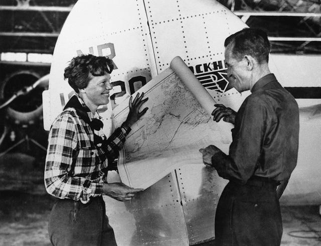 Amelia Earhart, Fred Noonan